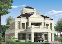 Kerala Home Design And Floor Plans Colonial Style