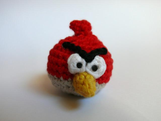 Angry bird amigurumi