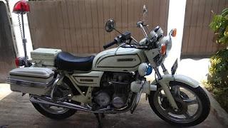 Dijual Motor Klasik Legendaris CB650 Police