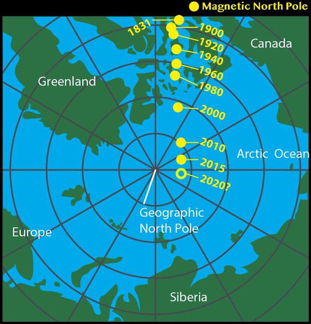 The Magnetic North Pole Has Moved. Here's What You Need To Know.