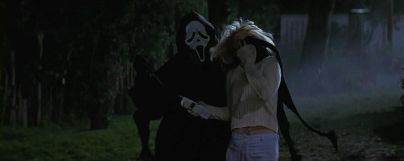 Scream Ghostface Drew Barrymore