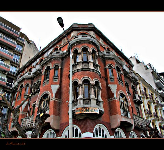 Red House Thessaloniki Photo by alekos athanasiadis Flickr