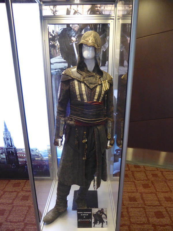 Michael Fassbender Assassins Creed Aguilar movie costume