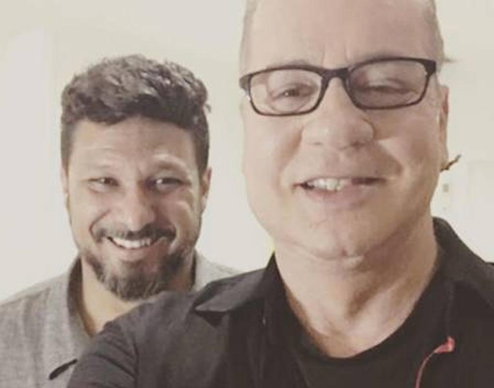 Marido parabeniza Luiz Fernando Guimarães pelos 68 anos do ator: 'Te amo pra sempre'