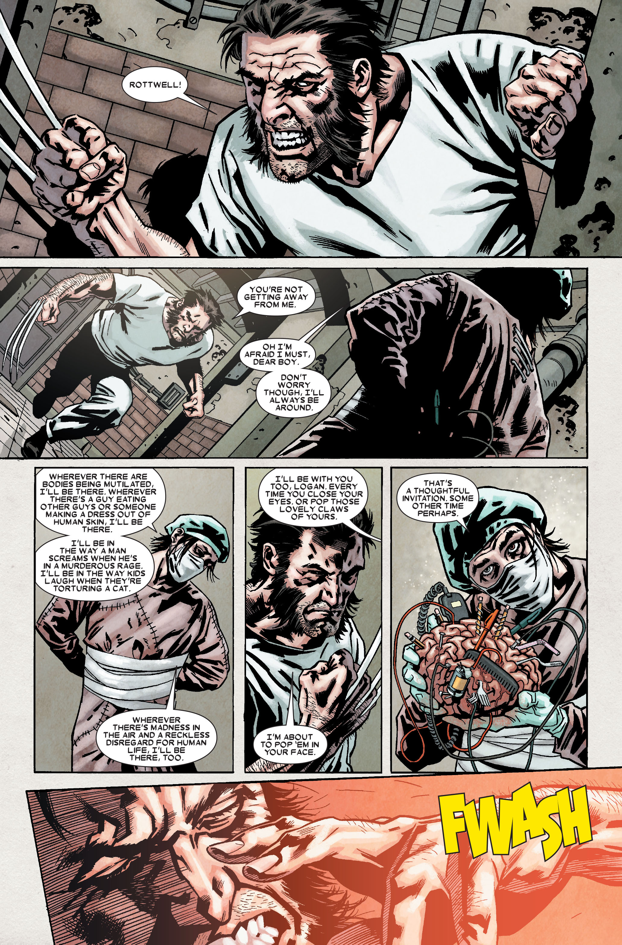 Read online Wolverine: Weapon X comic -  Issue #9 - 18
