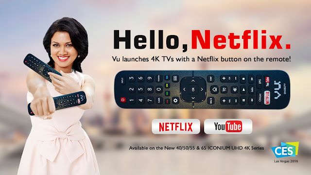 vu tv netflix remote