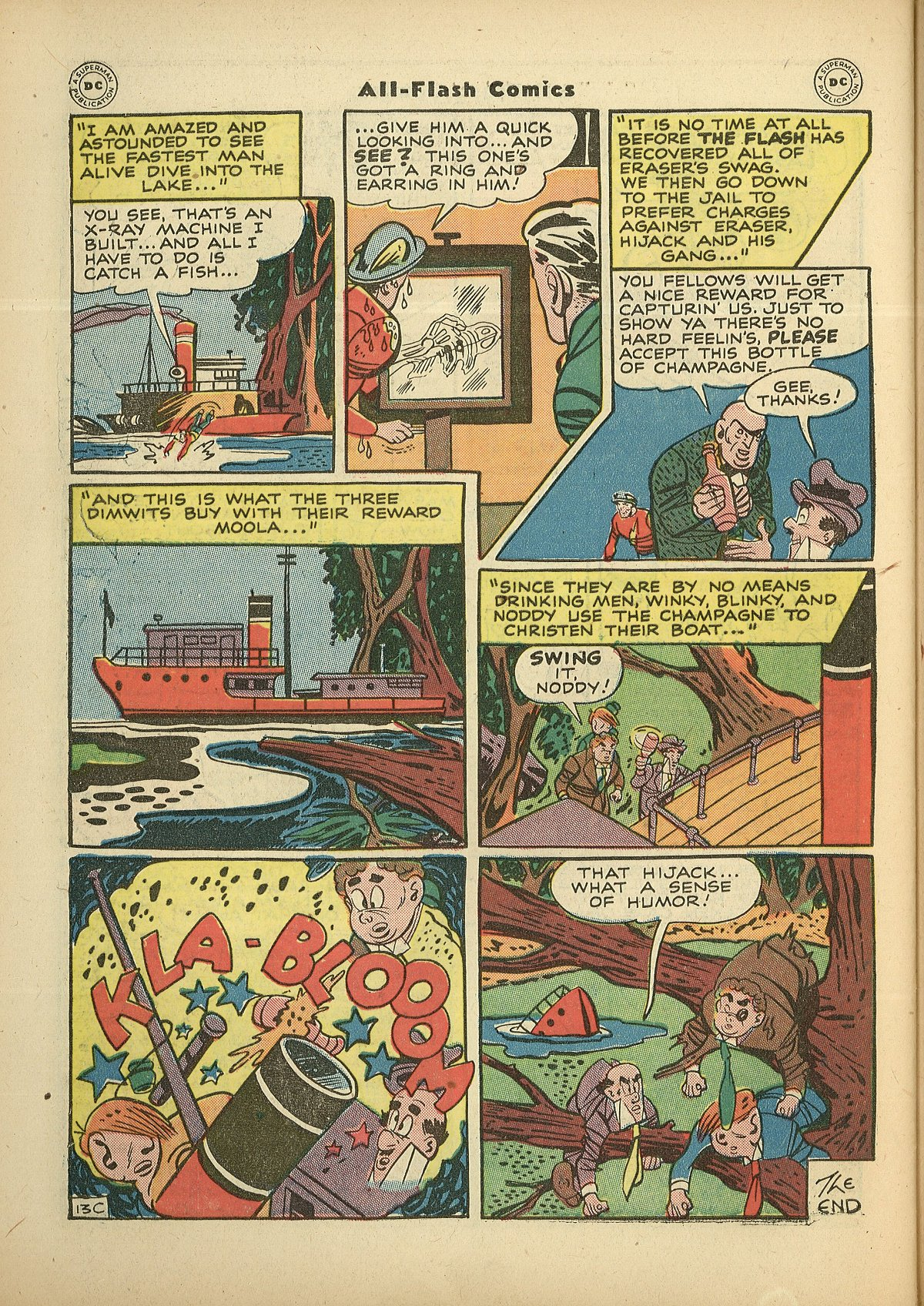 Read online All-Flash comic -  Issue #27 - 42