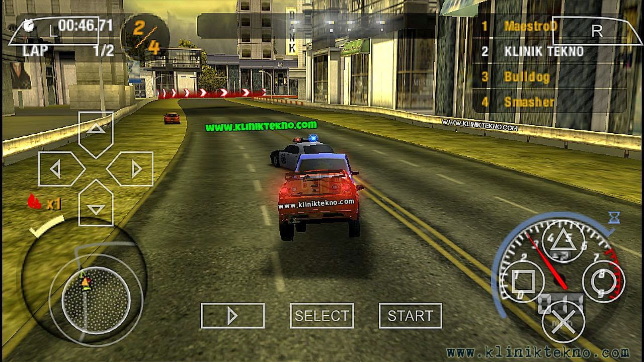 Need for Speed Most Wanted 5-1-0 Cheats for PSP