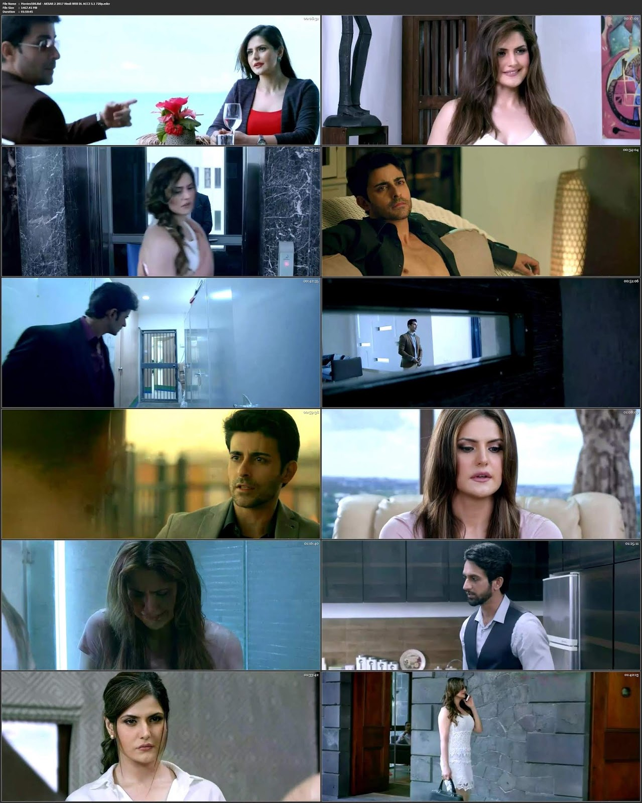 Aksar 2 2017 Bollywood 300MB ACC3 5.1 WEB DL 480p