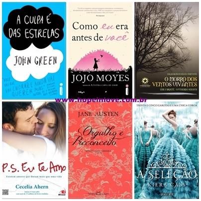os melhores romances