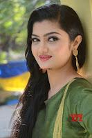 Akshitha cute beauty in Green Salwar at Satya Gang Movie Audio Success meet ~  Exclusive Galleries 014.jpg