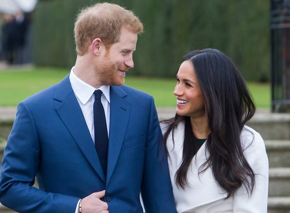 Prince Harry and Ms. Meghan Markle wedding ceremony at St George's Chapel in Windsor Castle