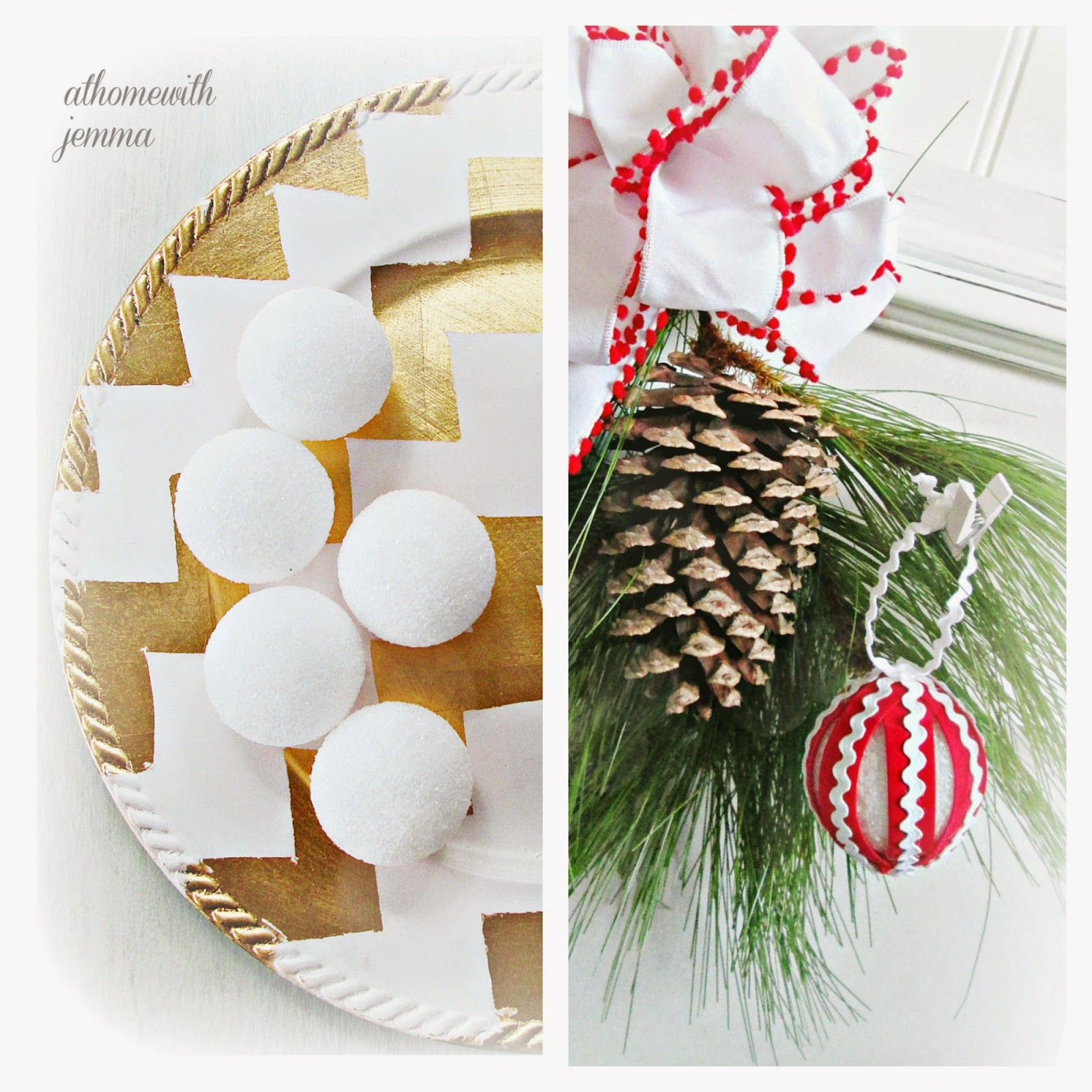 Easy tutorial and decorating tips for creating a nostalgic Christmas