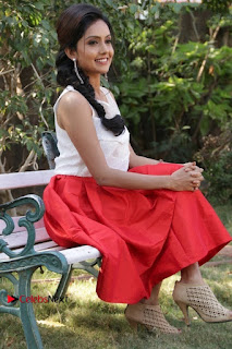 Actress Mahima Nambiar Latest Stills in White Top and Red Skirt at Kuttram 23 Movie Press Meet  0033.jpg