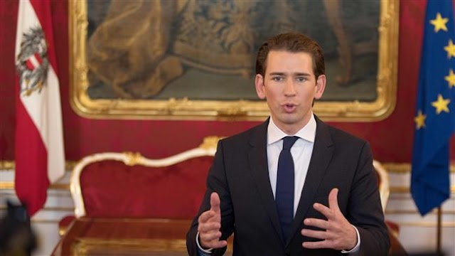Austrian chancellor Sebastian Kurz tasked with forming government