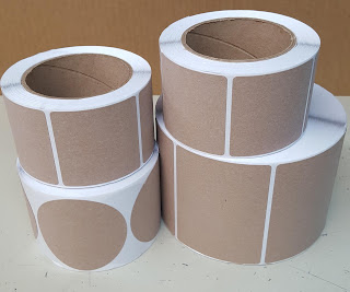 Inkjet Coated Kraft Paper Labels