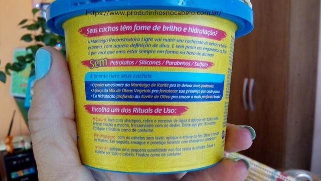 Manteiga Reconstrutora Novex