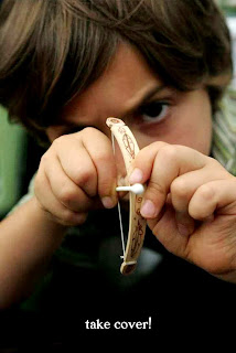 Cara Membuat Kerajinan Tangan Dari Stik Es Krim, Panah Mainan