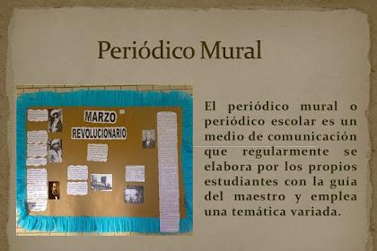 Mural De Boletin Informativo Escolar