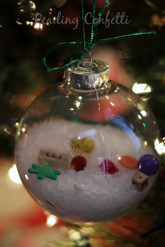 I Spy Christmas Ornaments: Kid-Made Gift