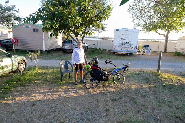 De Paris à Narbonne en vélo, Départ du matin
