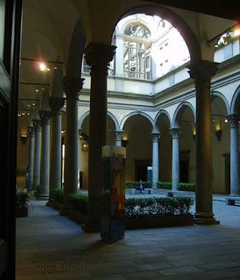 Florence, Manara, Turin, Persée, Benvenuto Cellini, Palazzo Strozzi, Giorgio De Chirico, Arturo Nathan, Böcklin, Bernar Yslaire,
