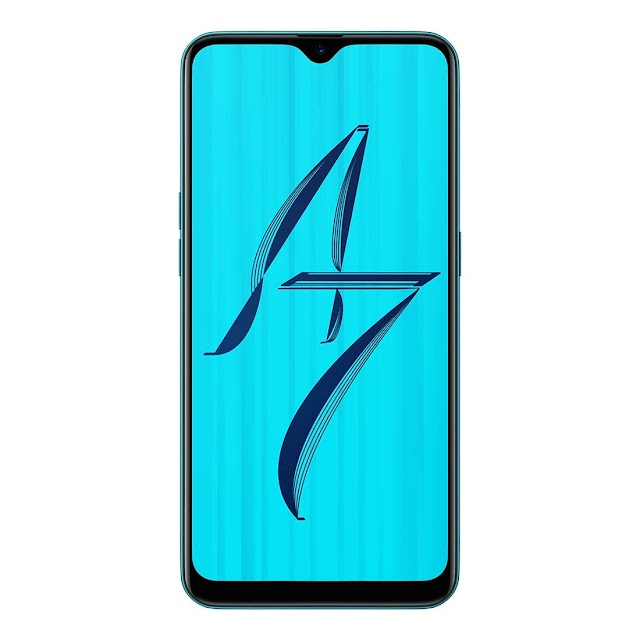 Oppo A7 Glaze Blue, 3GB RAM, 64GB Storage Best Performance Mobile