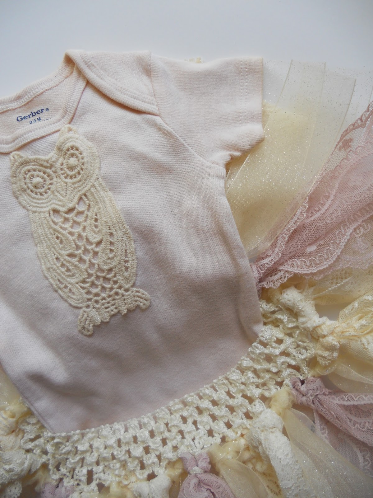 Just Another Hang Up Shabby Chic Baby Tutu