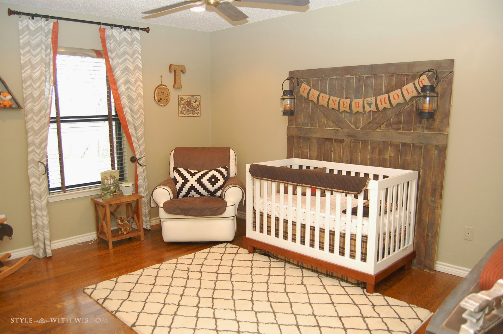 Style with Wisdom: A Woodland Nursery For Our Baby Boy!