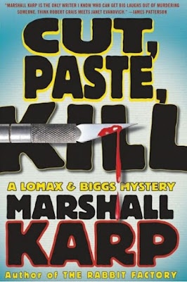 Cut, Paste, Kill by Marshall Karp - book cover