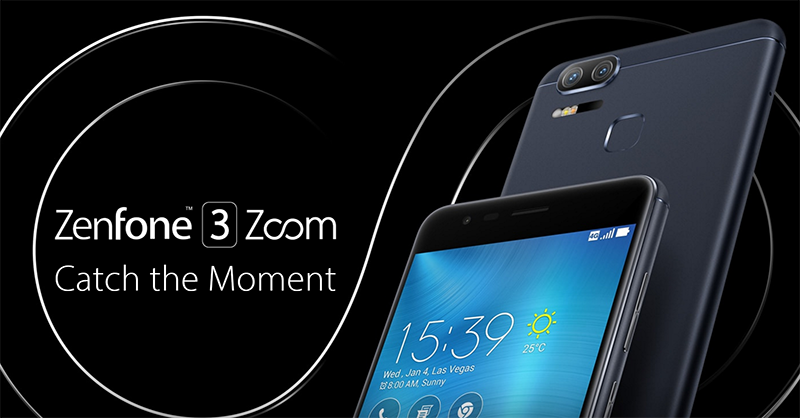 Asus ZenFone 3 Zoom With Dual Cameras And HUGE Battery Goes Official!