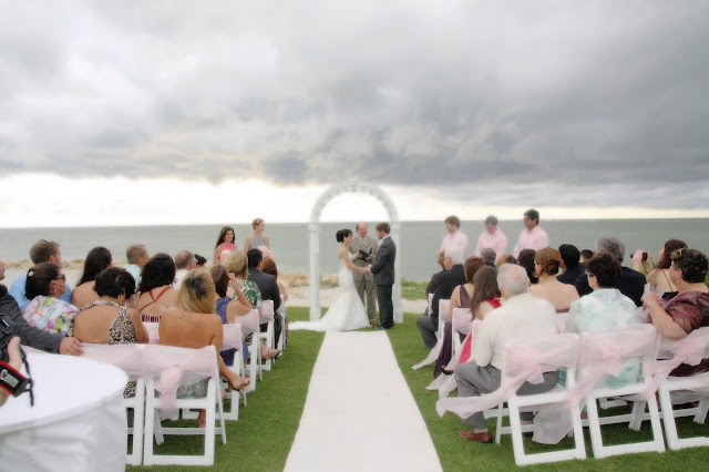 South Seas reosrt on captiva Island wedding