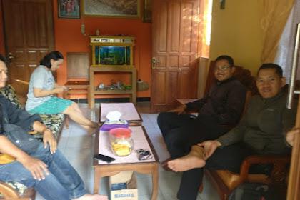 BDN Sleman Jenguk Istri Bripka Sukaeri Yang Sakit