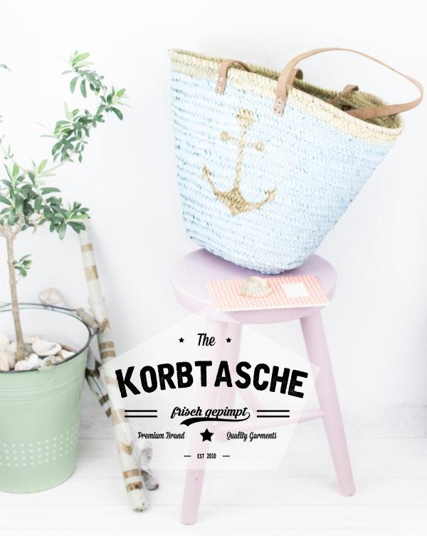 DIY Korbtasche / Ibizatasche
