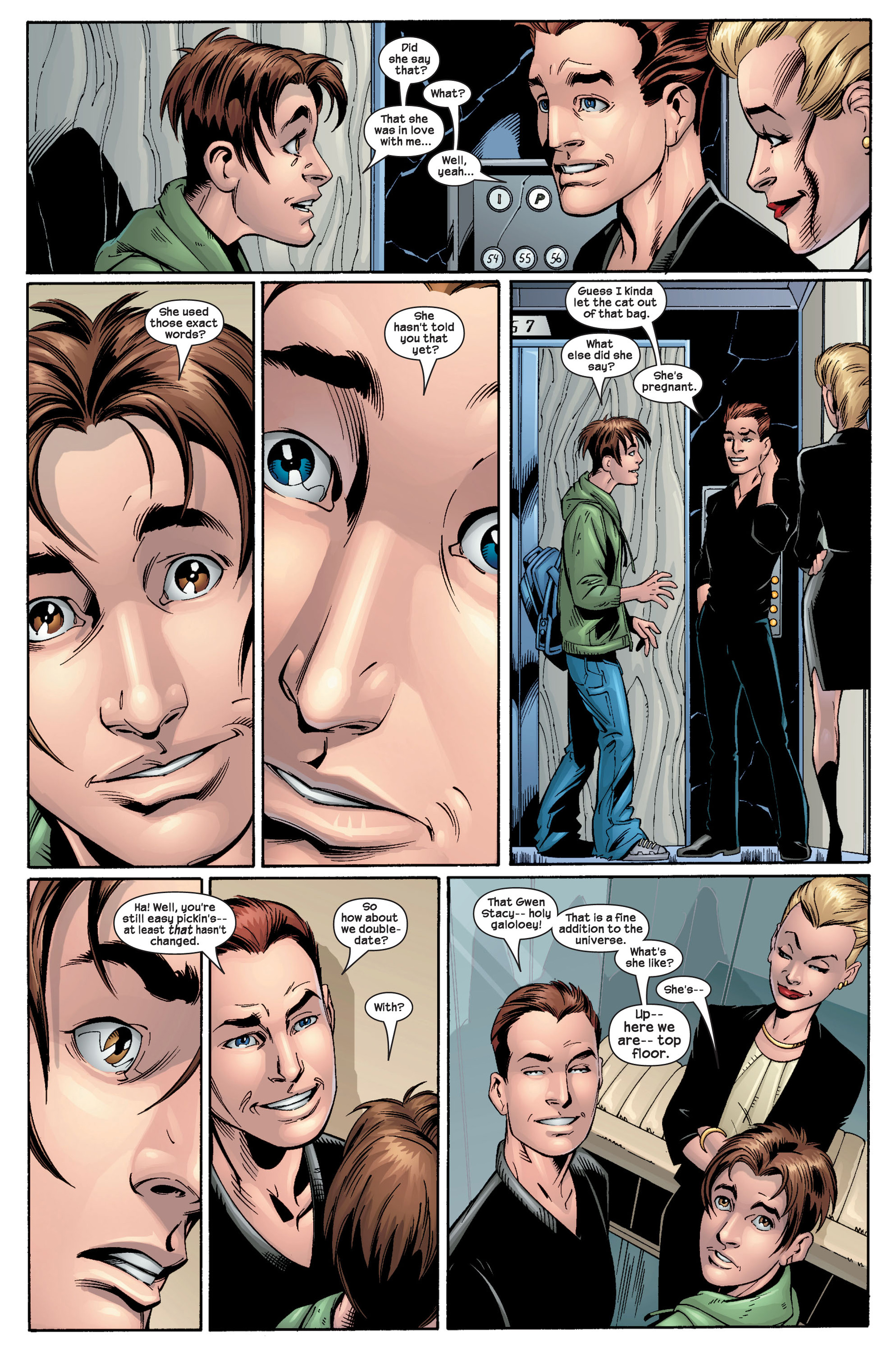 Read online Ultimate Spider-Man (2000) comic -  Issue #22 - 30