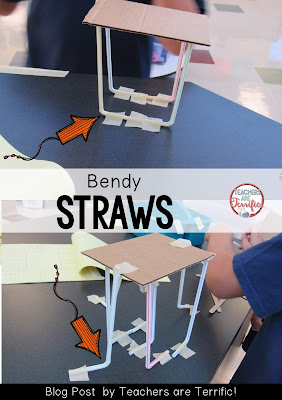 Problem Solving in STEM: How can you use the bendy part of a straw? Check this blog post for more!