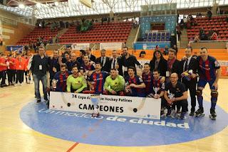 HOCKEY PATINES - Copa del Rey 2017 (Alcobendas): El Barça revalida título con hat-trick de Bargalló