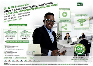 Glo 4G LTE data plan