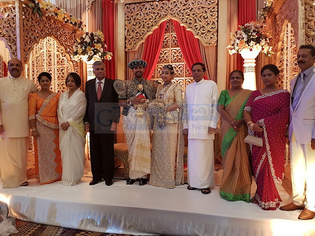 Palitha Range bandara's daughter Wedding