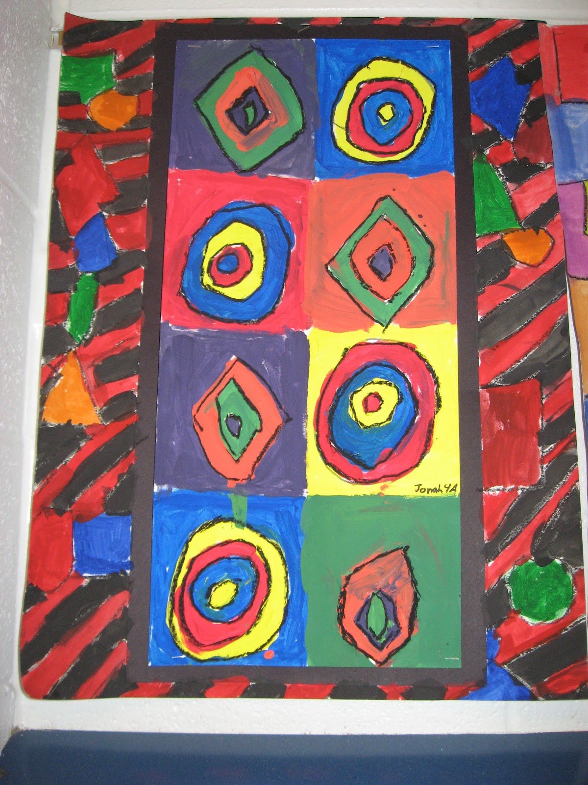 Jamestown Elementary Art Blog 4th Grade Kandinsky Abstract Art