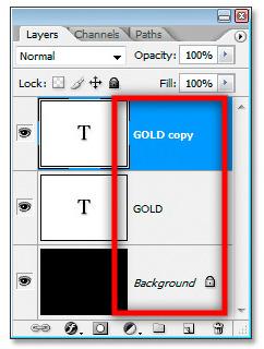 cara membuat warna emas