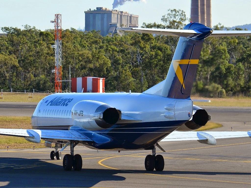 Central Queensland Plane Spotting Alliance Airlines