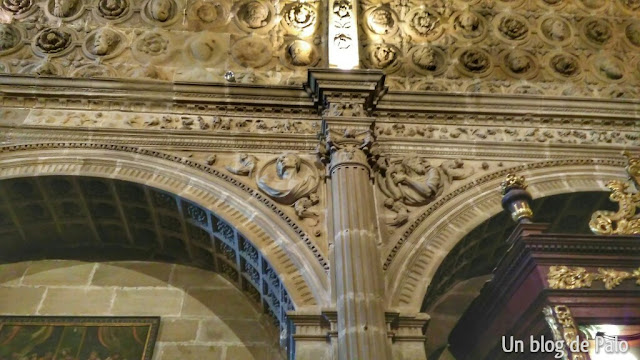 La catedral de Sigüenza sacristia de las cabezas