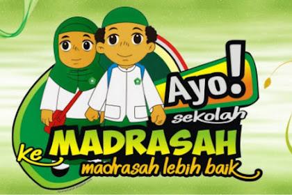Daftar Sekolah Madrasah Se Indonesia Yang Wajib Menerapkan KK 13 Sesuai SK Dirjen Pendis