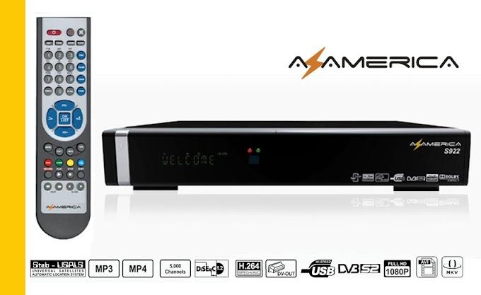 ATUALIZAÇÃO   AZAMERICA S922 HD  EM  S1001 14.05.2014