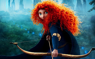Brave Animation Movie Character Merida HD Wallpaper