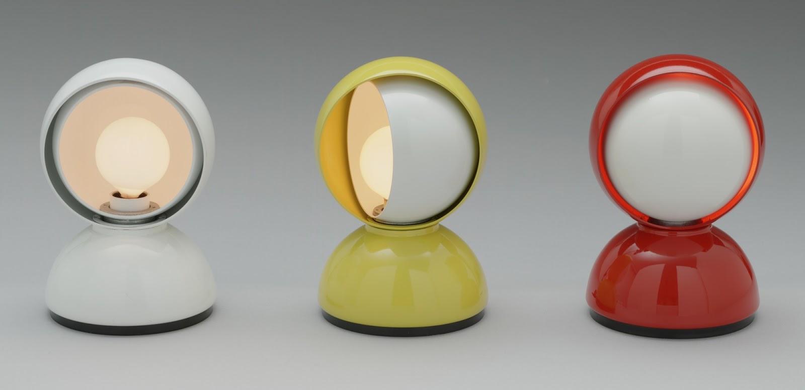 3 lampade iconiche di Vico Magistretti