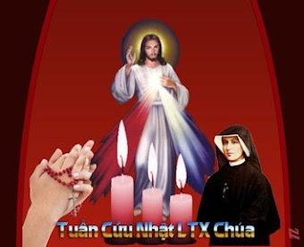 Tuần Cửu Nhật Kính Lòng Thương Xót Chúa và lãnh ân toàn xá vào CN 2 Phục Sinh