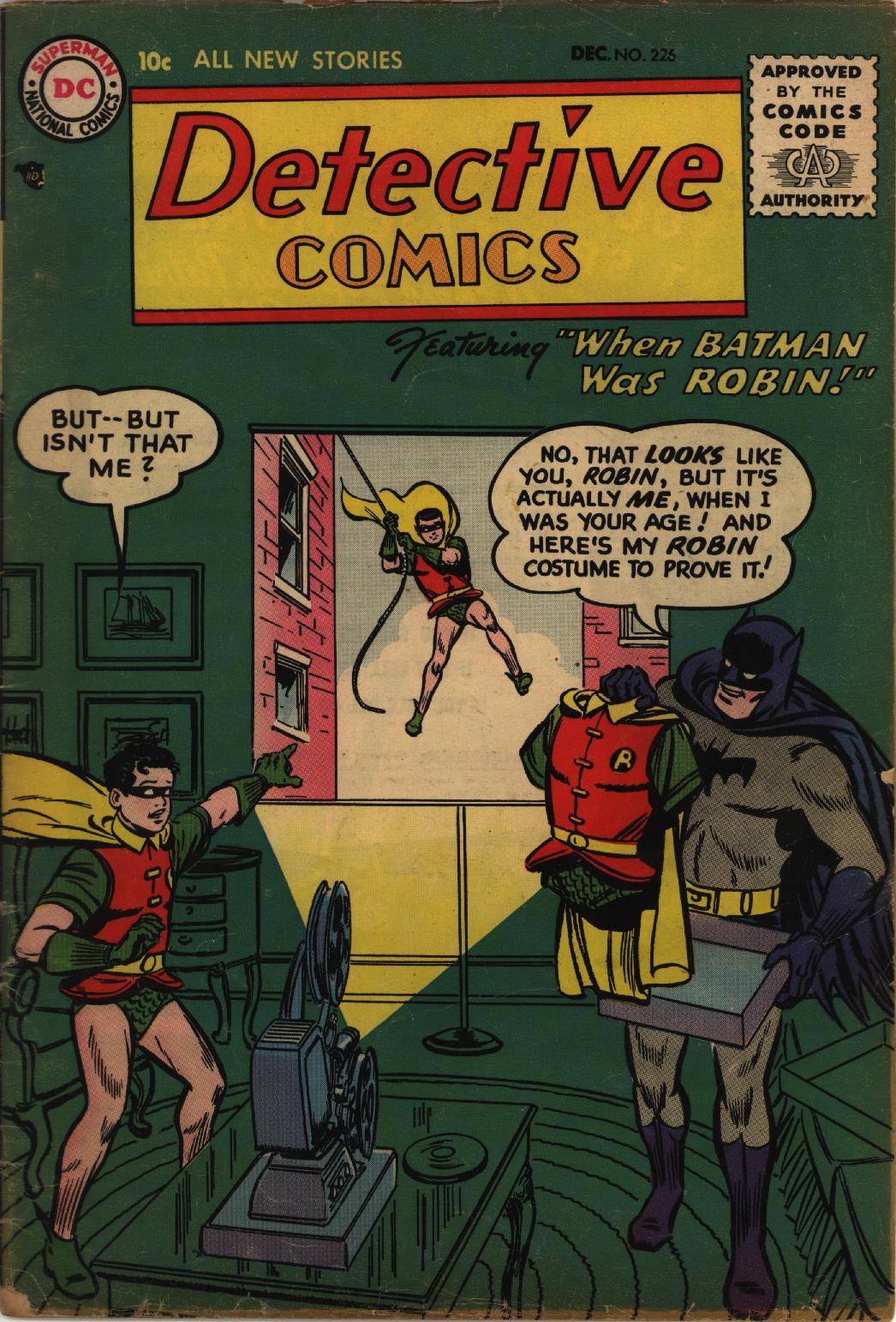 Read online Detective Comics (1937) comic -  Issue #226 - 1