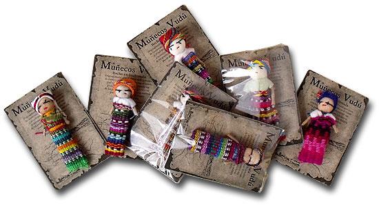 Magické bábiky z Guatemaly proti strachu.